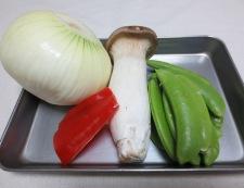 新玉ねぎのピリ辛炒め 材料①