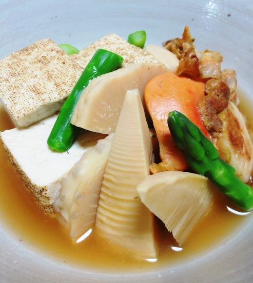 ホタテと焼き豆腐の炊いたん B