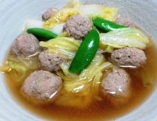肉団子と白菜の中華風煮込み 調理④