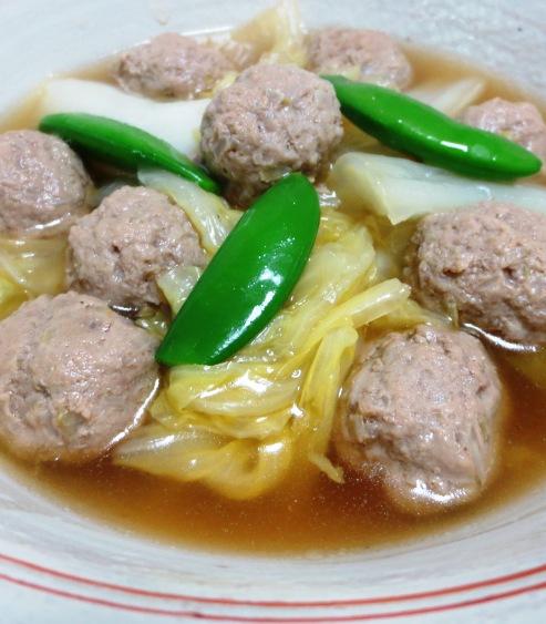 肉団子と白菜の中華風煮込み B2