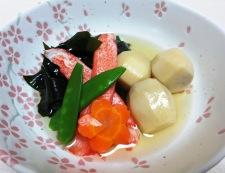 里芋とわかめの炊き合わせ 調理④