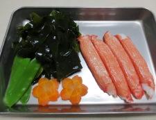 里芋とわかめの炊き合わせ 材料②