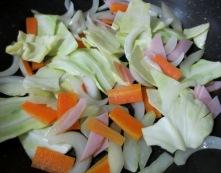 春野菜のスープパスタ 調理②