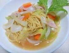 春野菜のスープパスタ 調理⑥