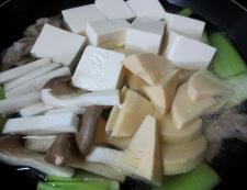 豆腐と青梗菜のうま煮 調理③