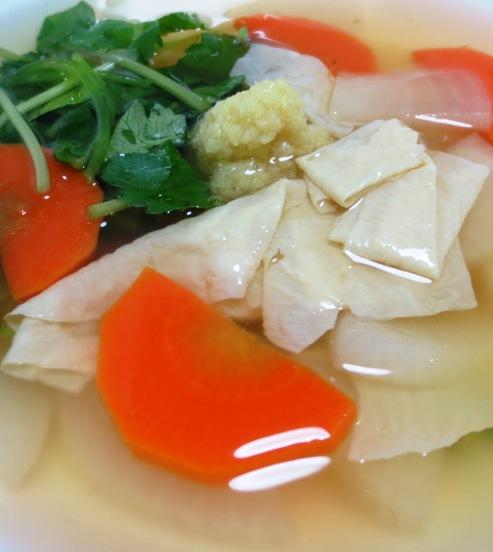 湯葉のとろみスープ B