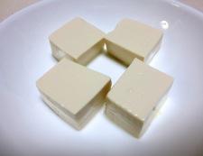 豆腐のザーサイ蒸し 調理①
