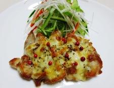 チキンのチーズペパーグリル 調理④