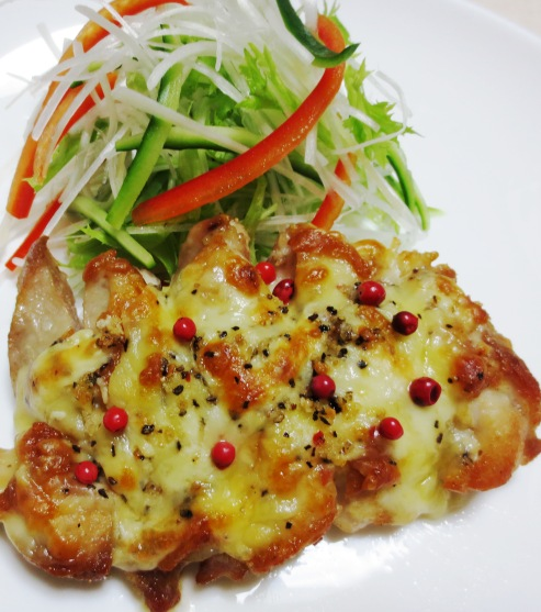 チキンのチーズペパーグリル B