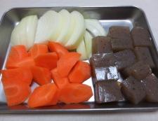 牛すじと根菜の柚子胡椒煮 【下準備】④
