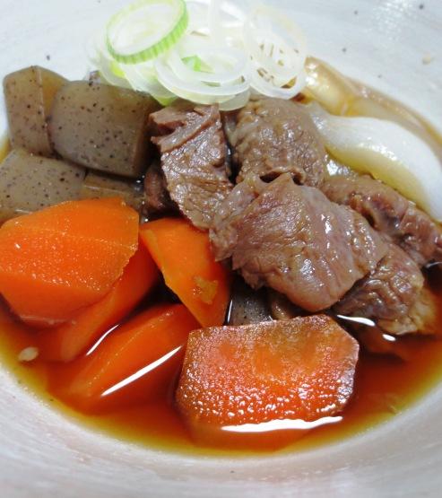 牛すじと根菜の柚子胡椒煮 B