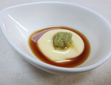 トマトのわさびマヨポン酢 調理①