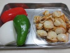 ホタテの柚子胡椒照り焼き 材料