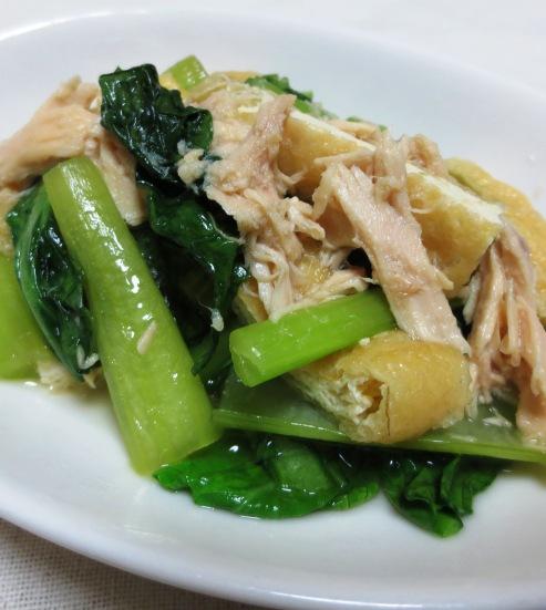小松菜とツナの炊いたん B