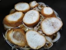 揚げ麩の豚丼 調理②