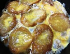 揚げ麩の豚丼 調理④