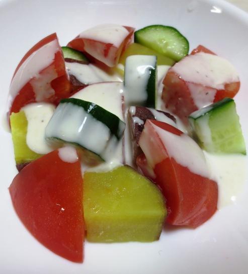 トマトとさつまいものシーザーサラダ B