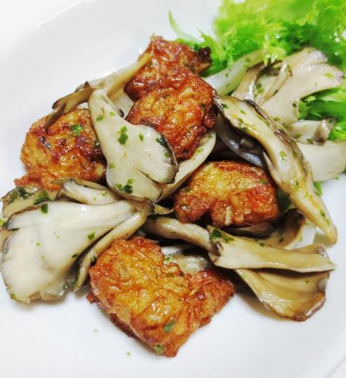 舞茸の青海苔炒め B