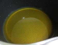 アジの塩焼き甘酢あんかけ 調理②