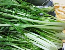鎌倉 水菜とお揚げの炊いたん 材料
