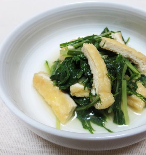 鎌倉 水菜とお揚げの炊いたん 大