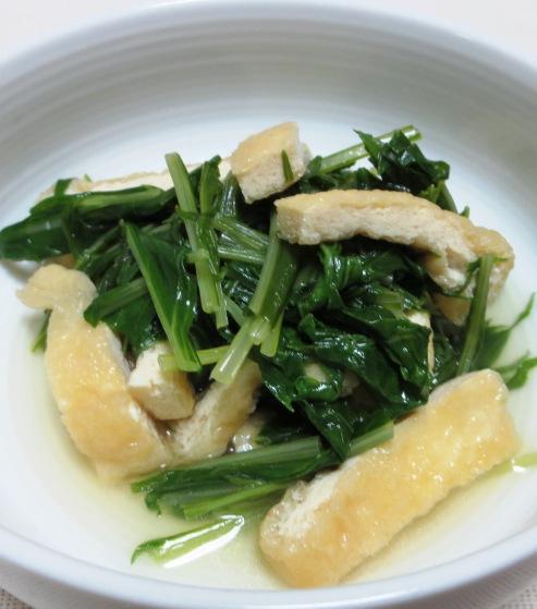 鎌倉水菜とお揚げの炊いたん B