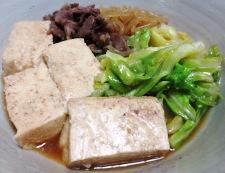 キャベツ豆腐 調理⑥