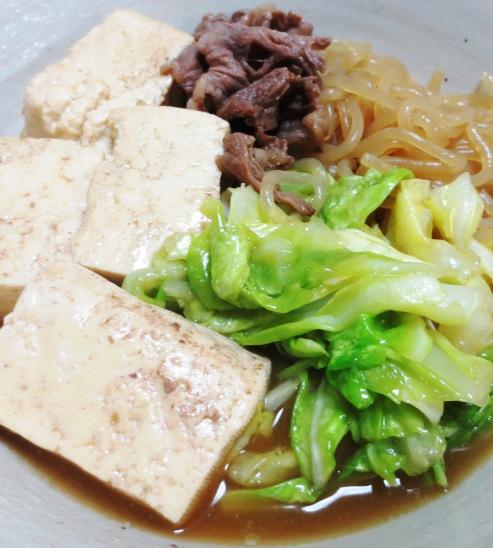 キャベツ豆腐 大