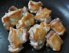 チキンソテー梅しそソース 調理②