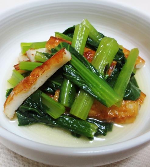 小松菜と竹輪の炊いたん B