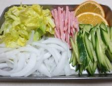 冷麺 材料
