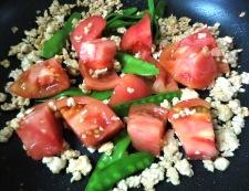 炒り卵とトマトの炒めもの 調理⑤