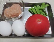 炒り卵とトマトの炒めもの 材料