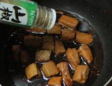 かつおの角煮丼 調理③