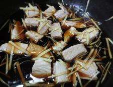 かつおの角煮丼 調理①