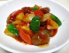 理想のトマトで酢こんにゃく【酢豚風】 調理⑥