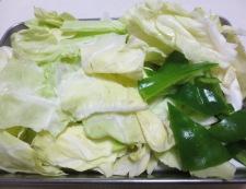 豚キムチのオイスターソース炒め 【下準備】