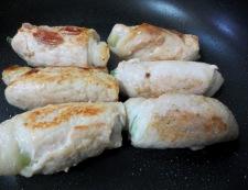 豚肉の青梗菜巻き 調理⑧