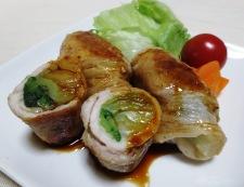 豚肉の青梗菜巻き 調理⑩