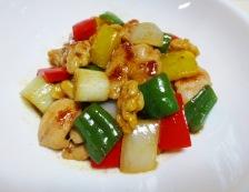 鶏肉とくるみのピリ辛炒め 調理⑥