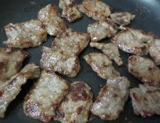 牛肉と エリンギの五香粉炒め 調理②