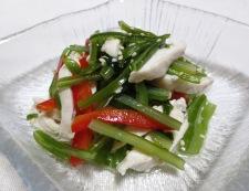 茎わかめの中華風サラダ 調理④