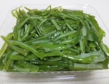 茎わかめの中華風サラダ 材料①