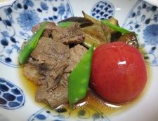 牛すじと茄子の煮込み 調理④