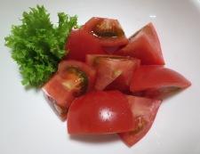 5分でできる炒り卵トマト 調理①