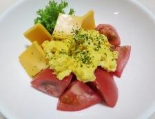 5分でできる炒り卵トマト 調理④2