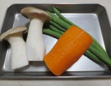 手羽元とエリンギのチリパウダー煮 材料②