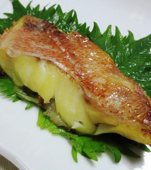 赤魚の西京焼き大