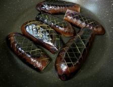 茄子といんげんの炊いたん 調理①