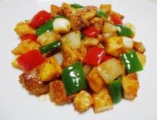 鶏肉の辛味噌炒め 調理⑥